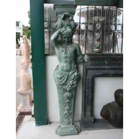 Pilastra de bronce