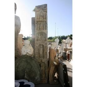Gran escultura oriental de piedra