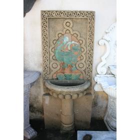 Fuente pared estilo andalusí