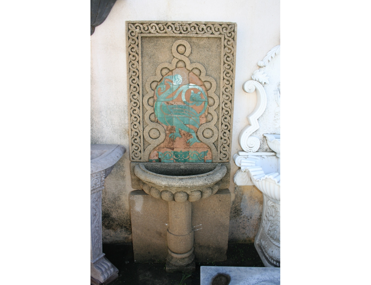 Fuentes de pared excellent fuentes de pared with fuentes - Fuente de pared ...