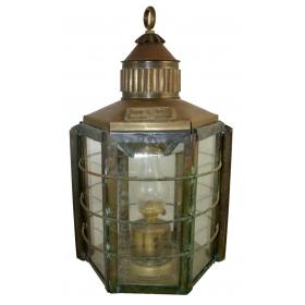 "Lampara antigua ""clipper ship lamp"""