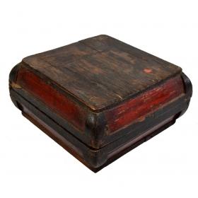 Caja china de madera