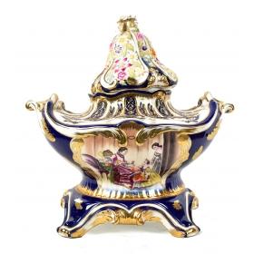 Jarrón de porcelana