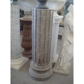 Peana clásica en mármol Emperador