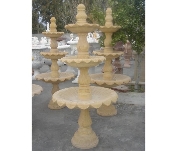 Fuente de piedra natural pequea Decoracin de jardines