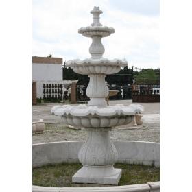 Fuente de marmol tres platos