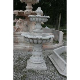 Fuente de marmol dos platos