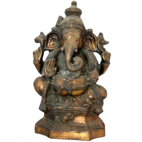 Elefante en bronce oriental