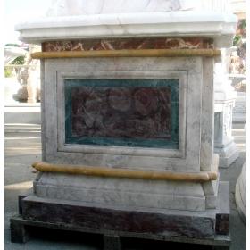 Base de marmol de diferentes colores