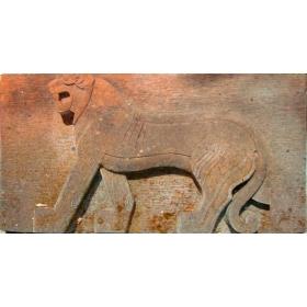 Escultura oriental de piedra
