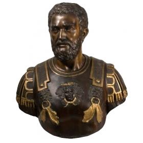 Busto de bronce