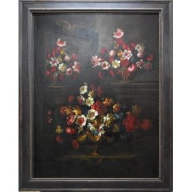 Cuadro con motivo floral
