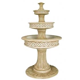 Fuente decorativa de piedra recompuesta