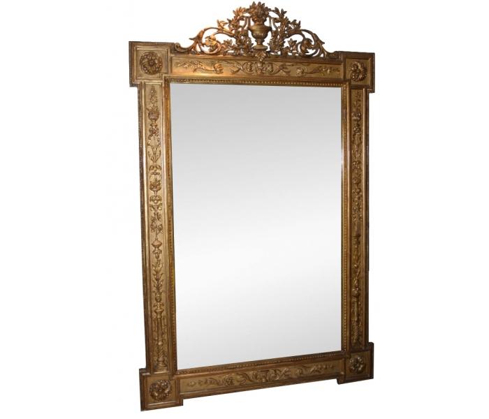 Espejo dorado for Espejos decorativos dorados