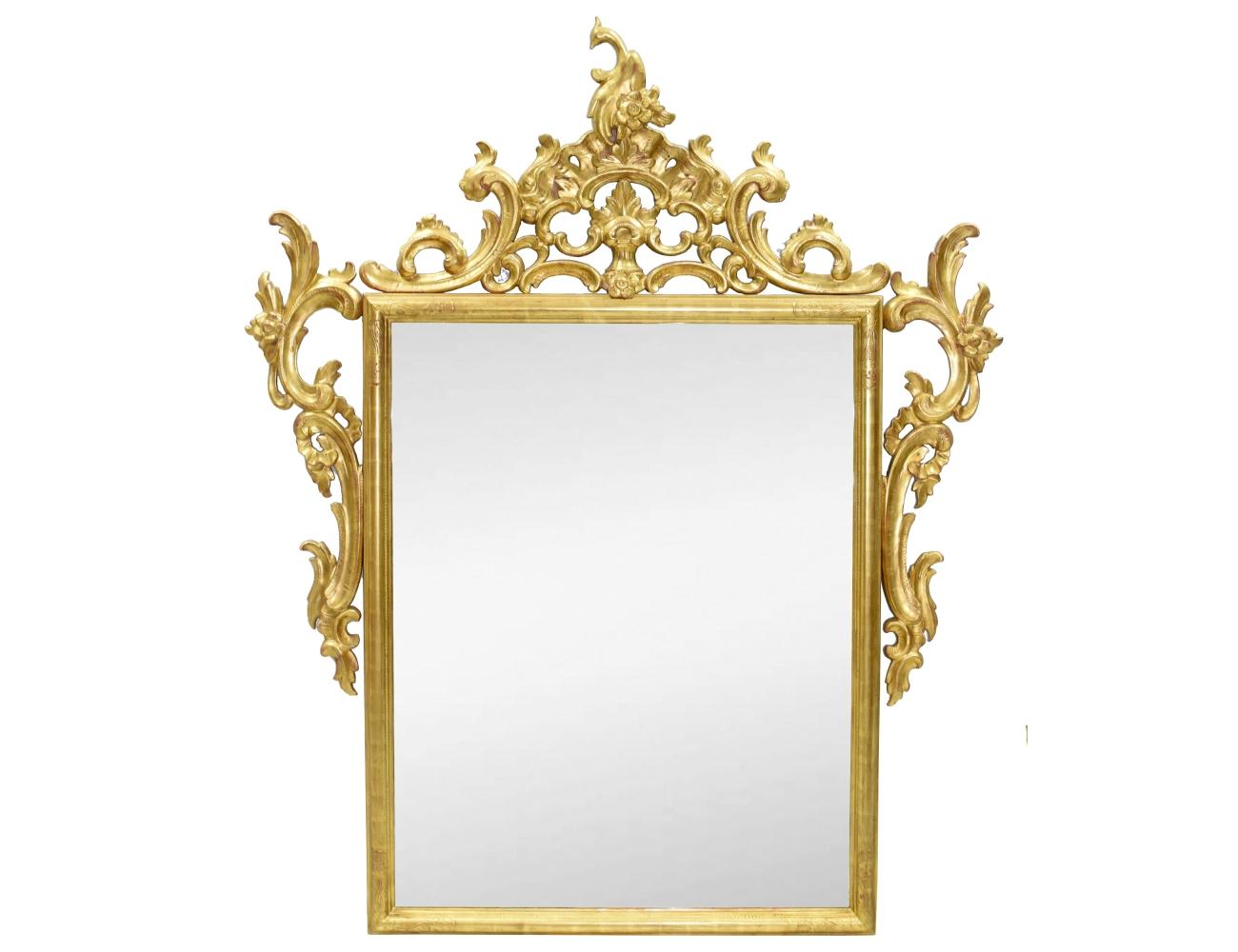 espejo con marco dorado ForEspejo Marco Dorado