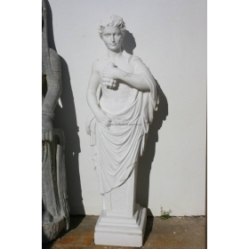 Escultura de hombre cartucho