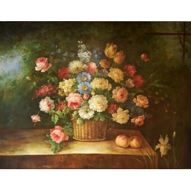 Cuadro de florero