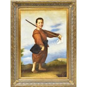 Retrato de personaje de la época