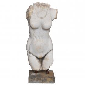 Torso de marmol