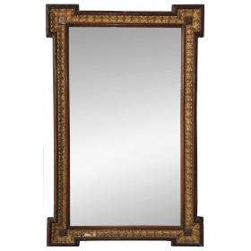 Espejo con marco de madera
