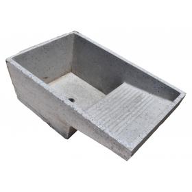Lavabo realizado en granito