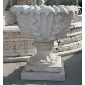 Copa de piedra arenisca tallada a mano