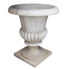 Macetero de mármol