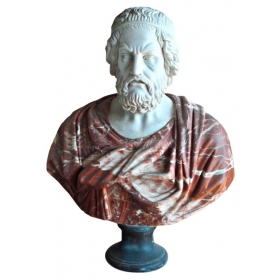 Busto de Homero, autor de la Iliada y la Odisea