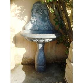Fuente de pared de mármol