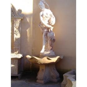 Fuente de pared grandes de mármol