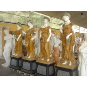 Cuatro estaciones de mármol