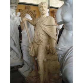 Escultura de romano en mármol egipcio