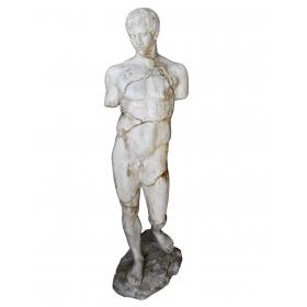 Escultura de Apolo realizada en resina
