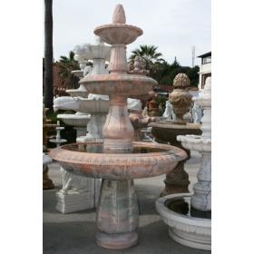 Fuente de mármol rosetta portugués de tres platos