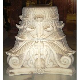 Capitel de mármol