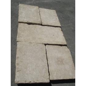 Metros cuadrados de suelo de piedra imitación antiguo