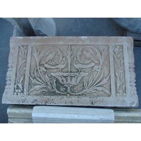 Relieve de piedra tallado a mano