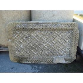Relieve decorativo de piedra