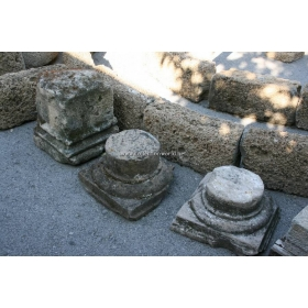 Selección de bases en piedra antiguas s xvii