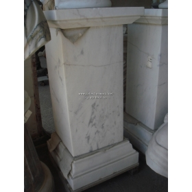 Peana de marmol