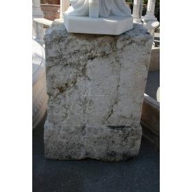 Base de piedra antigua de antigua portada