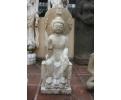 Buda de mármol tallado a mano