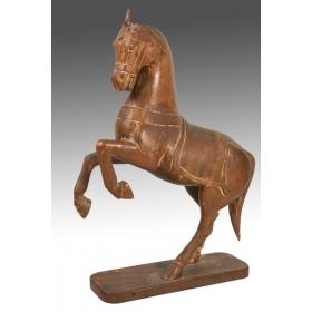 Escultura caballo oriental