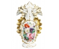 Jarrón florero de porcelana