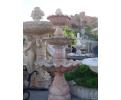 Fuente tres platos mármol rosa portugués