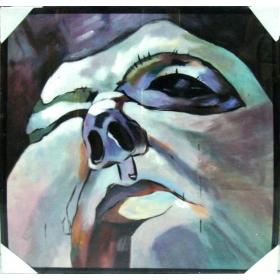 Cuadro abstracto pintado a...