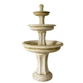 Fuente de jardín de piedra...