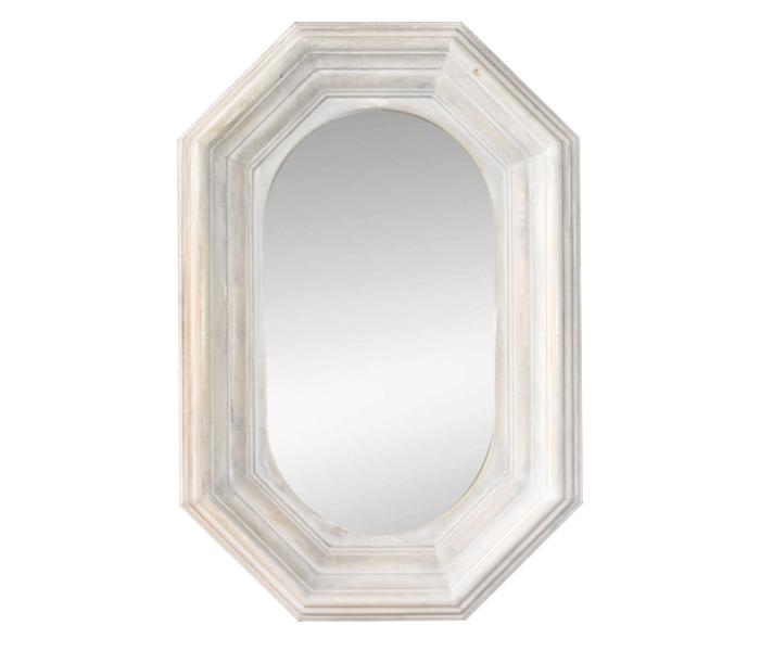 espejo con marco de madera blanco On espejos con marco de madera blanco