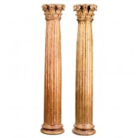 Conjunto de cuatro columnas...
