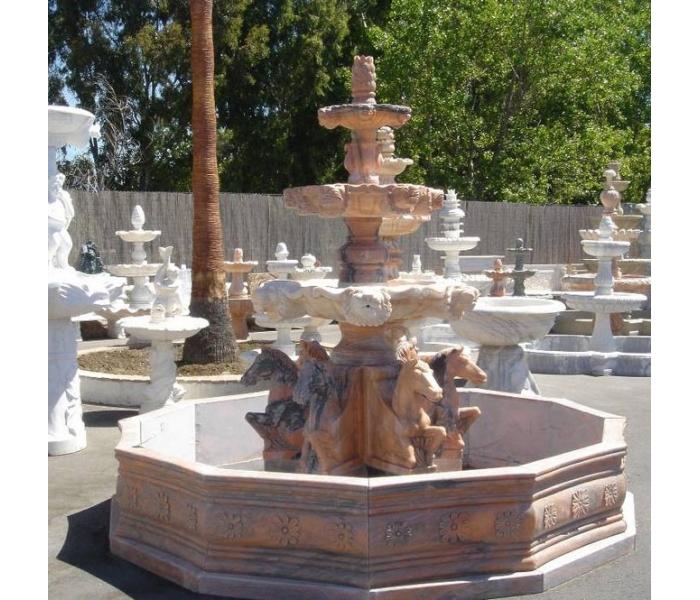 Fuente de mármol rosetta portugués...